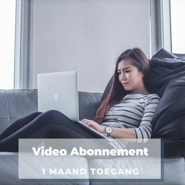 video-abonnement WooComm prod 1 mnd abo