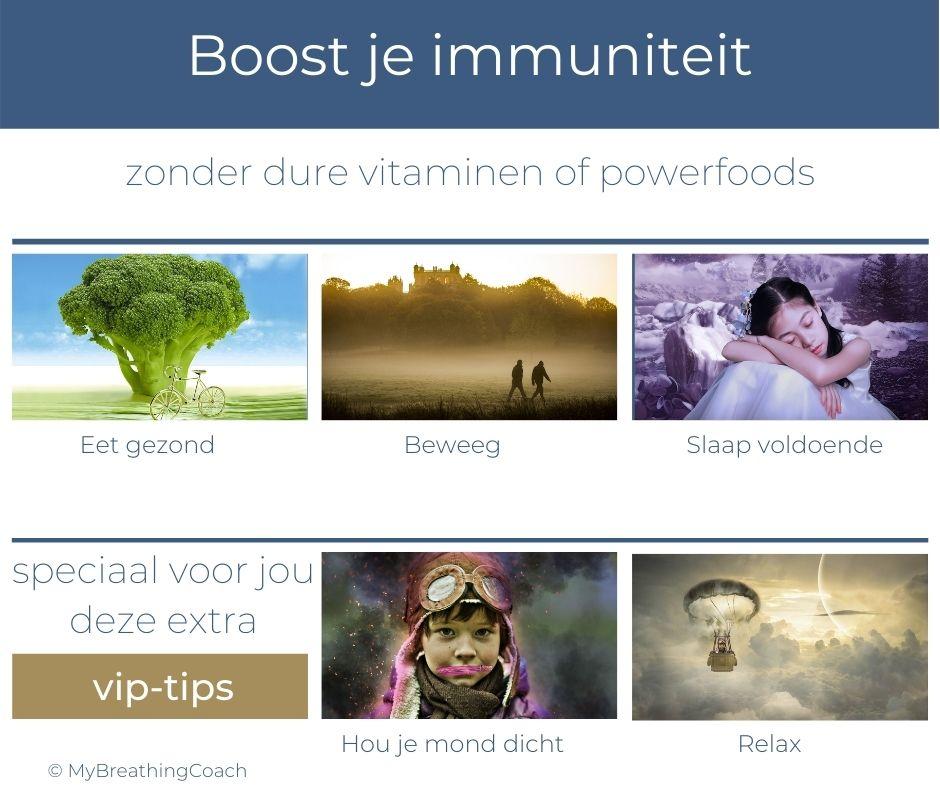 Boost je immuniteit