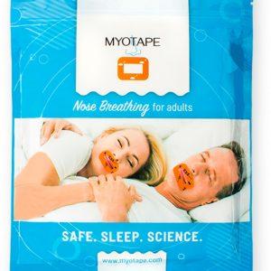Myotape volwassenen neus neusademhaling mond dicht